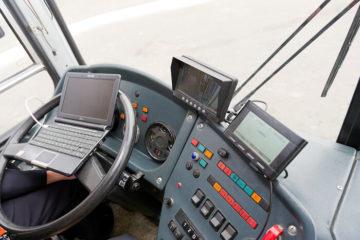 Трекеры для автобусов