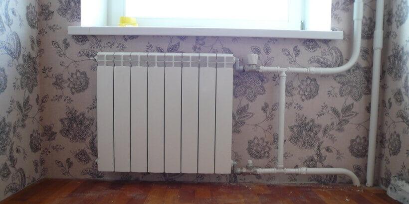 поменять отопление
